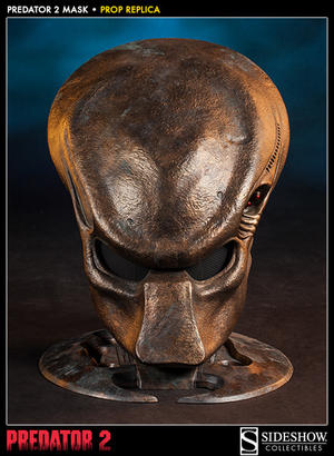 Predator 2  Mask Prop Replica Sideshow Collectibles