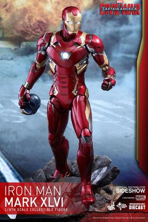 Civil War Iron Man Mark XLVI Sixth Scale Figure - Hot Toys