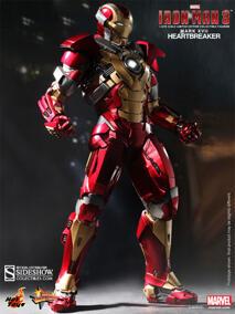 Hot Toys - Iron Man Mark 17 Heartbreaker Sixth Scale Figure