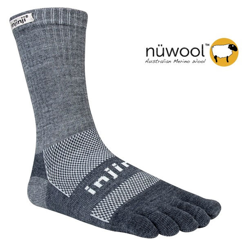Injinji Outdoor Original Weight Crew NuWool