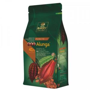 Ljus choklad 41%, Alunga Pistoles, Cacao Barry, 1 kilo