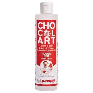 Cacaofärg Pavoni röd