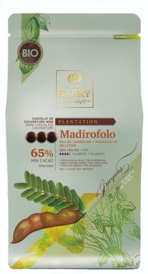 Mörk choklad 65%, Madirofolo Pistoles, Chocovic, 1 kilo
