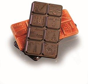 Pralinform chokladkakor storstad