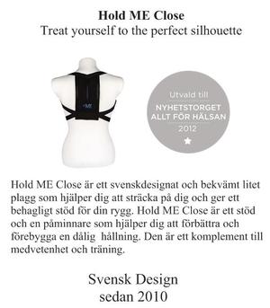 Hold ME Close unisex -accessoar för bättre hållning