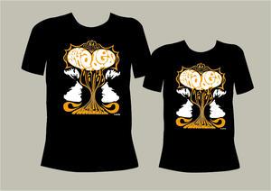 THE SHADES OF ORANGE - T-shirt