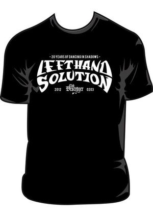 LEFT HAND SOLUTION - 20 years anniversary T-shirt