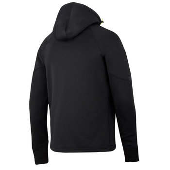 FlexiWork Fleecehoodie med stretch
