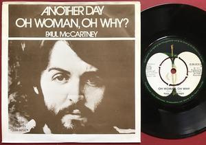 """PAUL McCARTNEY (Beatles) Another day 7"""" Swe PS 1971"""