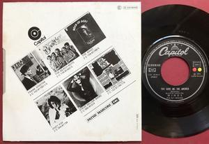 "PAUL McCARTNEY & WINGS (Beatles) Letting go 7"" Fransk PS 1973"