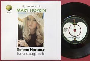 "MARY HOPKIN - Lontano dagli occhi 7"" Swe/UK PS 1970"