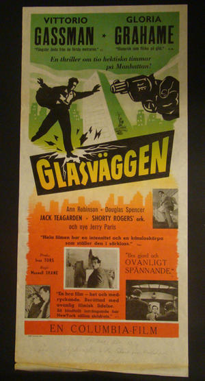 THE GLASS WALL (VITTORIO GASSMAN, GLORIA GRAHAME)