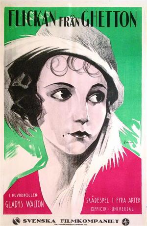 FLICKAN FRÅN GHETTON (1923)