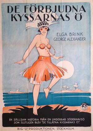 DE FÖRBJUDNA KYSSARNAS Ö (1926)