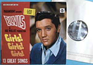 ELVIS PRESLEY - Girls! Girls! Girls! German LP 1962