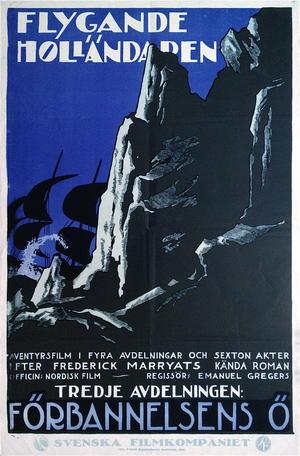 FLYGANDE HOLLÄNDAREN - FÖRBANNELSENS Ö (1922)