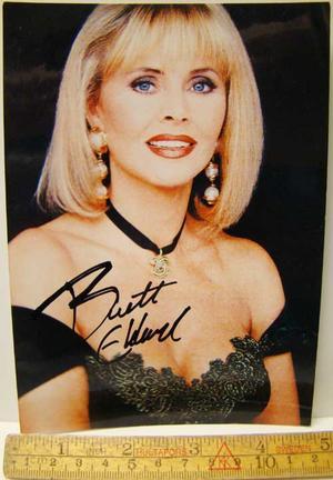 Ekland, Britt Autograph
