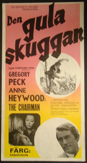 DEN GULA SKUGGAN (GREGORY PECK, ANNE HEYWOOD)