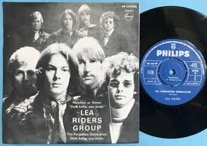 LEA RIDERS GROUP - The forgotten generation/Dom kallar oss mods Swe PS 1968