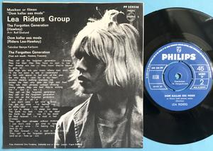 LEA RIDERS GROUP - The forgotten generation/Dom kallar oss mods Swe PS 1968