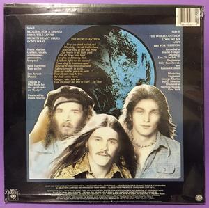 FRANK MARINO & MAHOGANY RUSH - World anthem US LP 1977 OÖPPNAD!