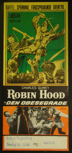 ROBIN HOOD DEN OBESEGRADE (CHARLES QUINEY)