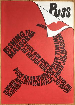 PUSS magazine - Nr 12 1969 - With extra inlay