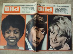 BILDJOURNALEN no 29 1965 Stones/Charlie Watts/ Millie