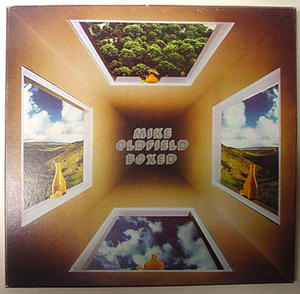 MIKE OLDFIELD - UK 1975 Box set 4 LP