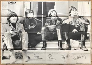 BEATLES - POPBILD no 3 1965 Top copy!