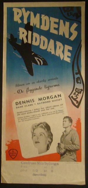 GOD IS MY CO-PILOT (DENNIS MORGAN, DANE CLARK ,RAYMOND MASSEY)