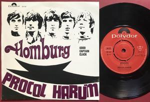 PROCOL HARUM - Homburg Norway PS 1967