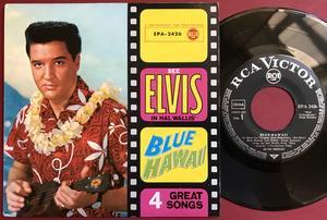 ELVIS PRESLEY - Blue Hawaii - German EP 1961