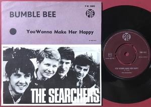 SEARCHERS - Bumble bee Swe PS 1965