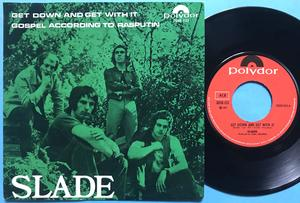 SLADE - Get down and get with it Norway PS 1971