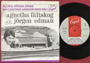 AGNETHA FÄLTSKOG - Sjung denna sång Swe PS 1968