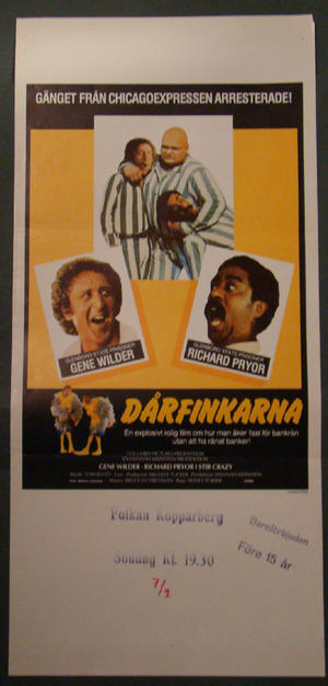 DÅRFINKARNA (GENE WILDER, RICHARD PRYOR)