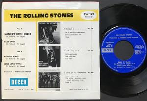 ROLLING STONES - Mothers little helper +3 Fransk EP 1966