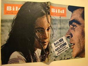 BILDJOURNALEN nr 18 1965 Sean Connery/ Geraldine Chaplin