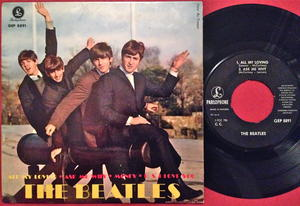 BEATLES - All my loving + 3 EP Swe 1963