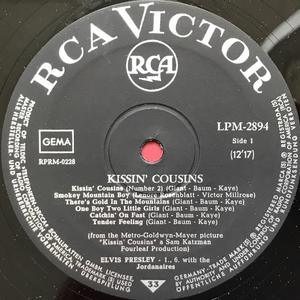 ELVIS PRESLEY - Kissin´ cousins German-orig LP 1964