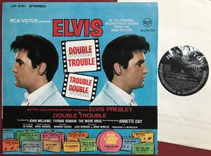 ELVIS PRESLEY - Double trouble German-orig LP 1967