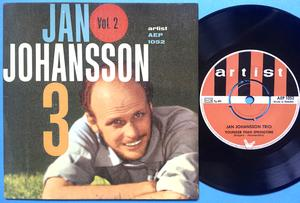 JAN JOHANSSON TRIO - Vol 2 Swe EP 1964