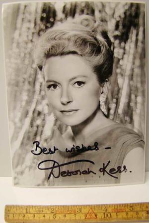 Kerr, Deborah Autograf