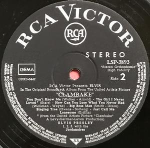 ELVIS PRESLEY - Clambake Tysk-orig LP 1967