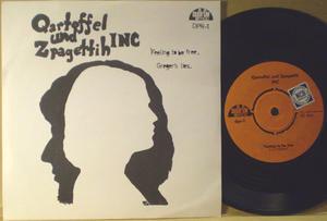 Qartoffel und Zpagettih INC - Feeling to be free Swe PS 1967