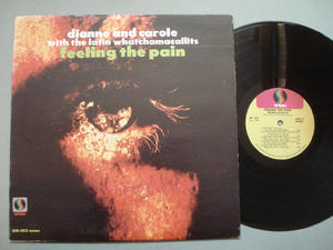 DIANNE AND CAROLE - Feeling the pain US orig LP