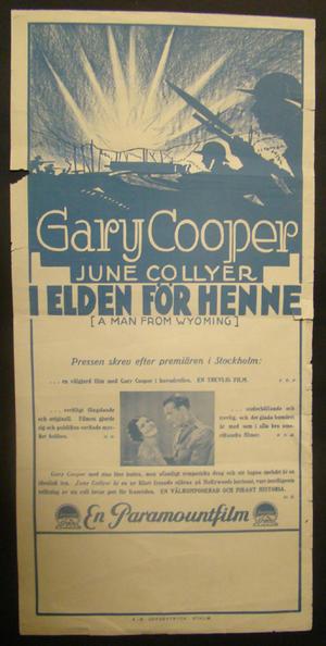 I ELDEN FÖR HENNE (1931)
