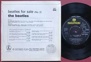BEATLES - For sale No 2 UK-orig EP 1964
