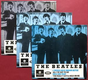 BEATLES - I should have known better + 3 Mörkblå Swe EP 1964